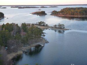Utsikt från Sjöbevakningens torn